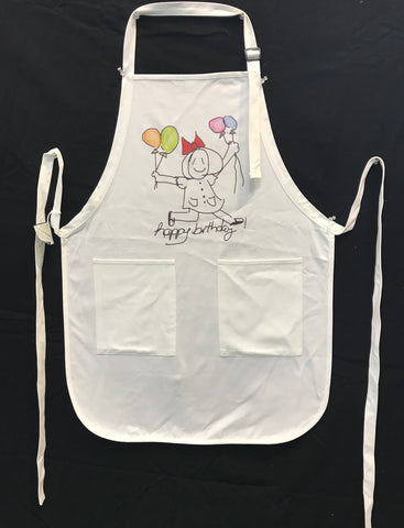Apron- Happy Birthday