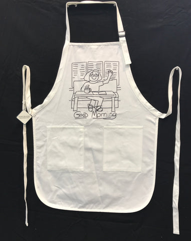 Apron- Good Morning