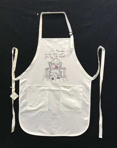 Apron- It's Monday...