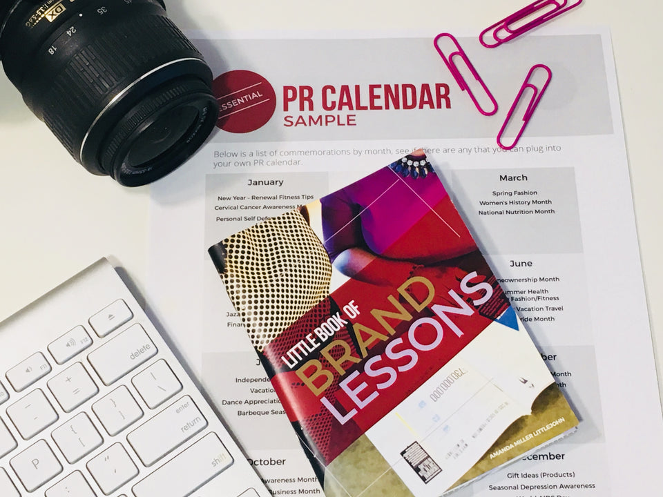 PR Calendar for media outreach