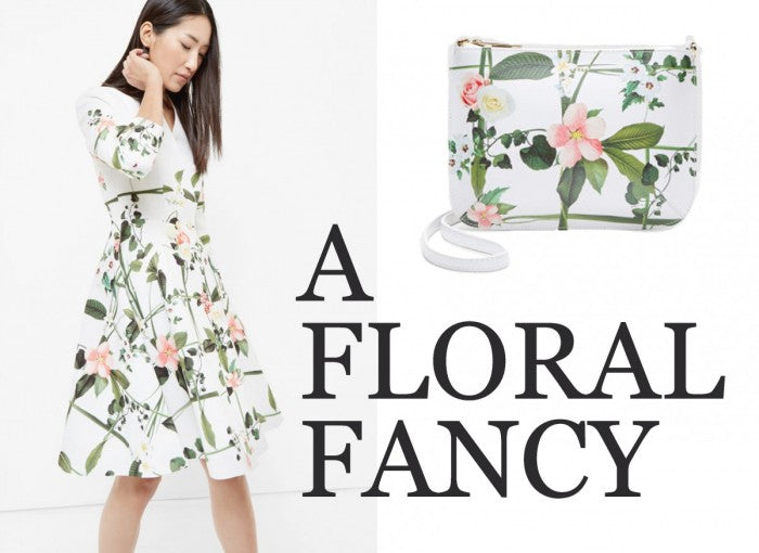 A. Floral fancy from Ted Baker…