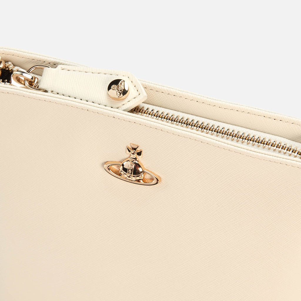 VICTORIA NEW SQUARE CROSSBODY BAG IVORY