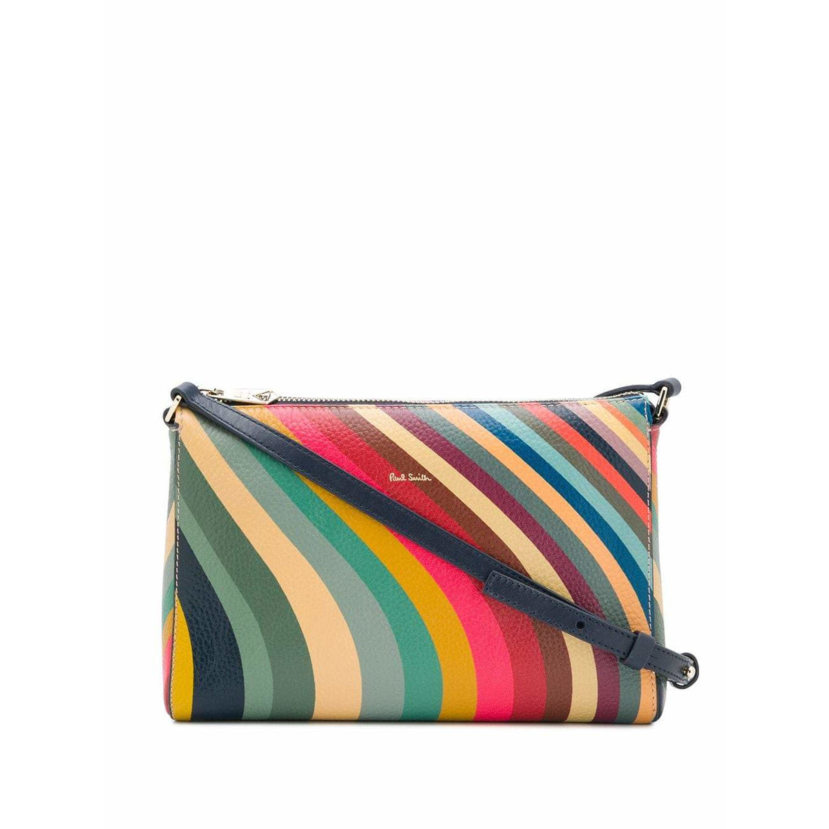 PAUL SMITH SWIRL ZIP TOP CROSSBODY BAG