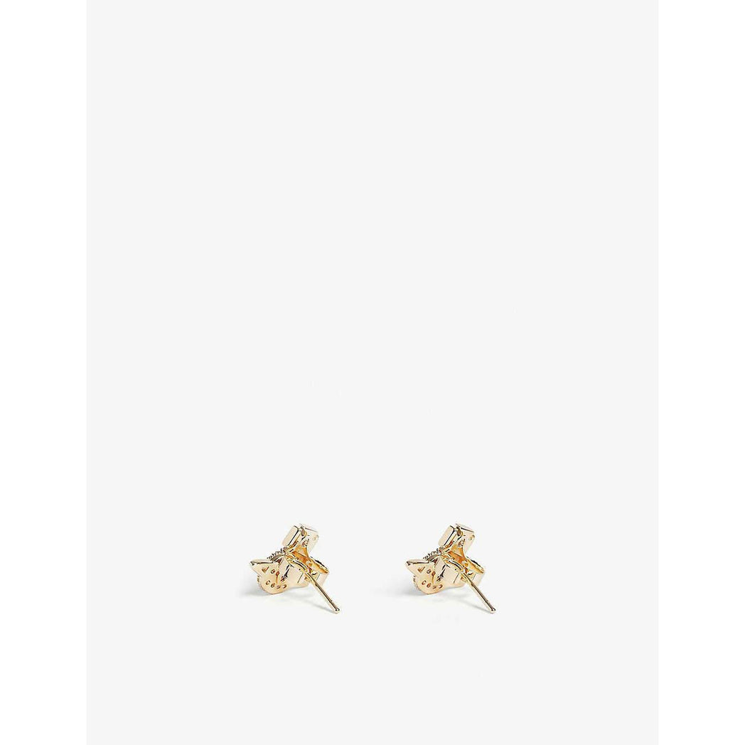 VIVIENNE WESTWOOD JEWELLERY TAMIA EARRINGS GOLD