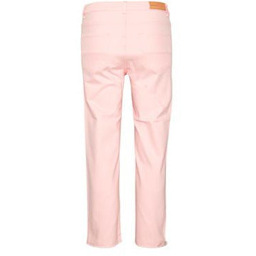 INWEAR DITTE TWILL CROPPED JEANS PINK