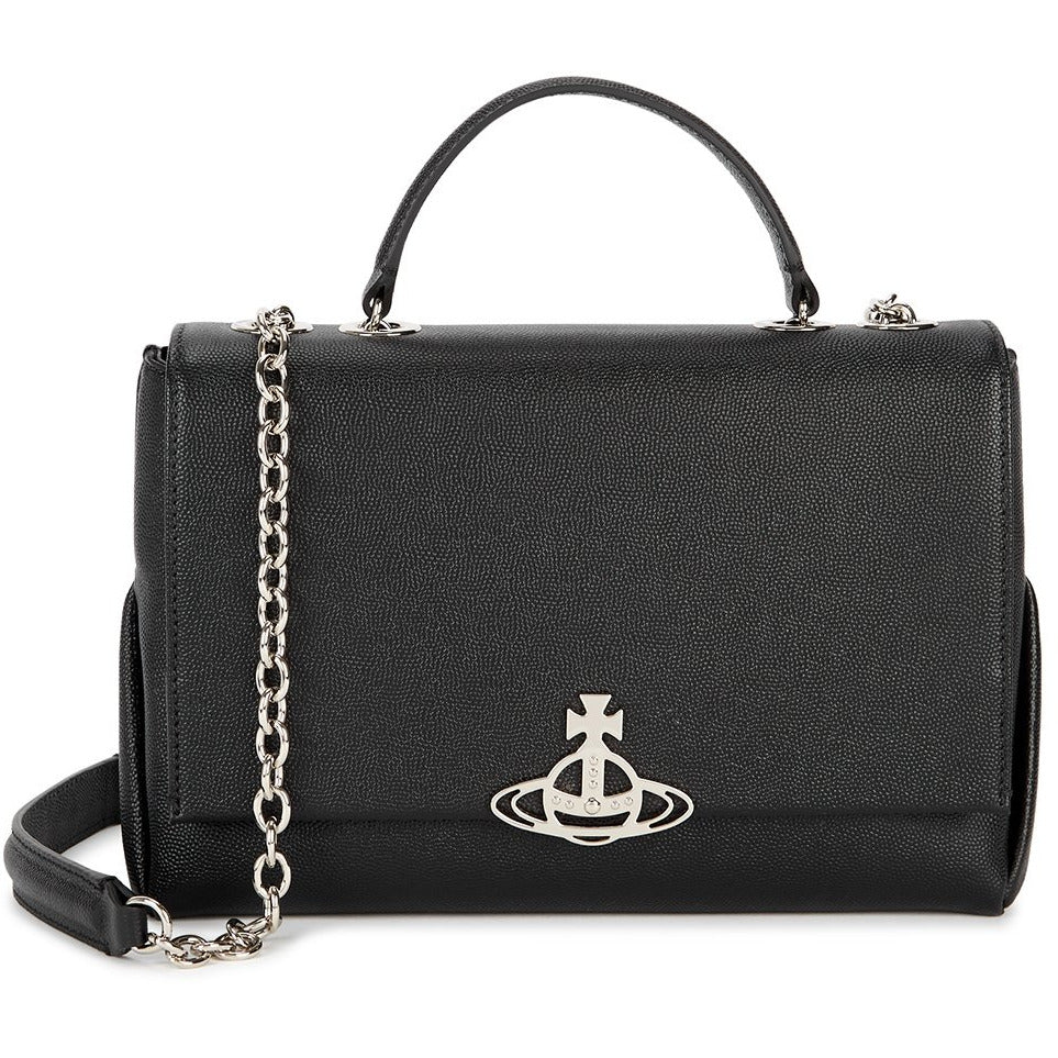 VIVIENNE WESTWOOD ACCESSORIES WINDSOR CROSSBODY BAG BLACK