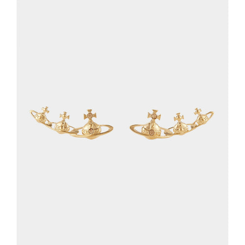 VIVIENNE WESTWOOD JEWELLERY CANDY EARRINGS GOLD
