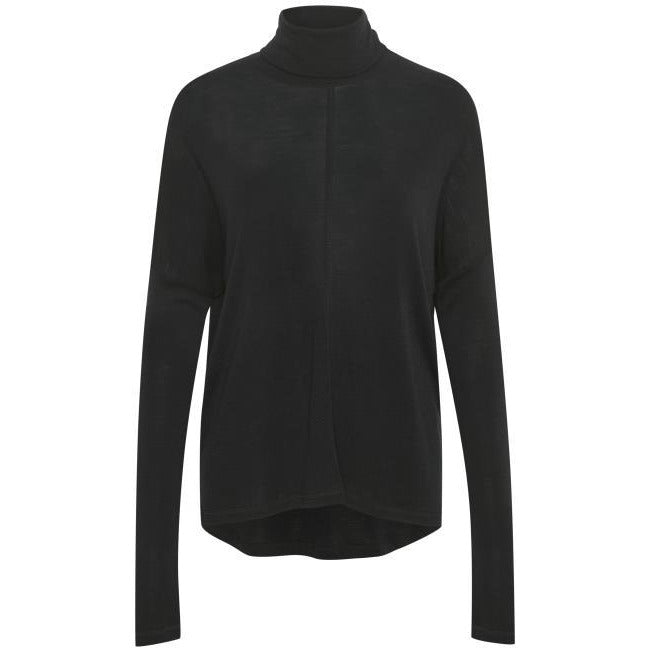 INWEAR CLOSE TO HOME ROLLNECK BLACK