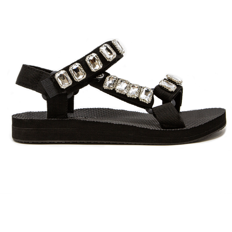 Jewel Detail Trekky Sandals