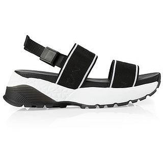 MARC CAIN SPORT SANDAL TRAINER BLACK/WHITE