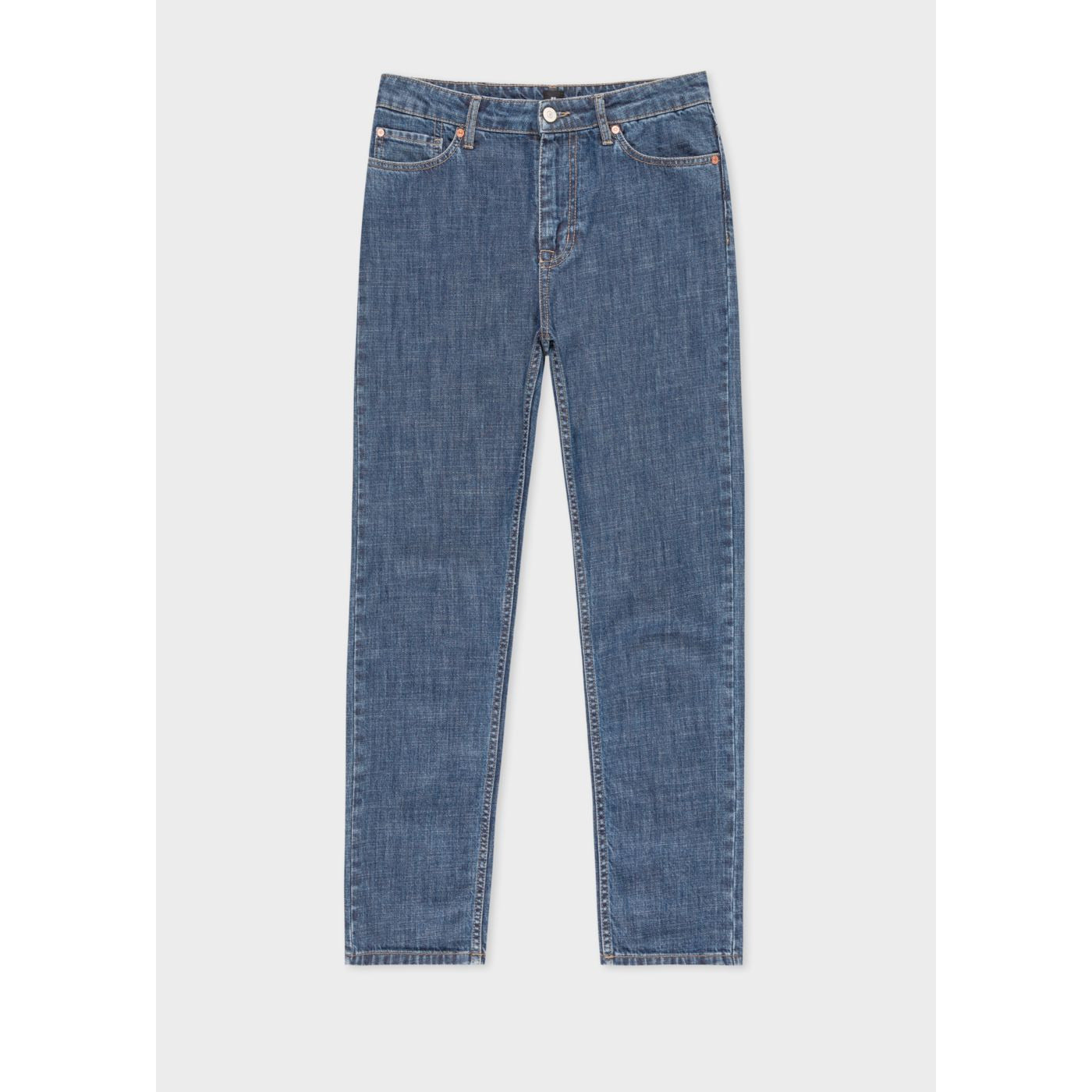 PS PAULSMITH WASHED DENIM BOYFRIEND-FIT JEAN