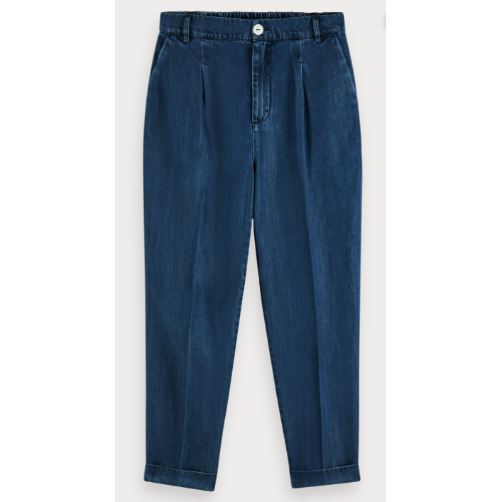 SCOTCH AND SODA CHINO PANT INDIGO