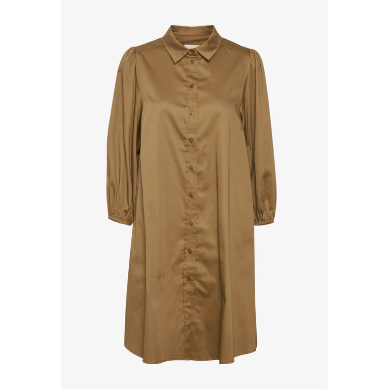 PART TWO ELEINA SHIRT DRESS BROWN
