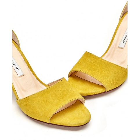 FABIENNE CHAPOT YASMINE PUMP SUNFLOWER YELLOW