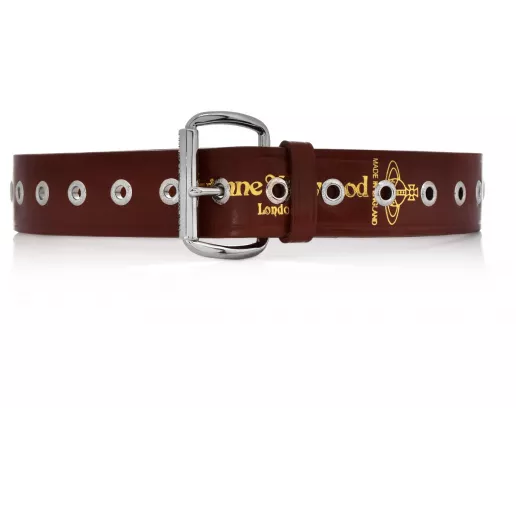 VIVIENNE WESTWOOD ACCESSORIES ALEX BELT BROWN
