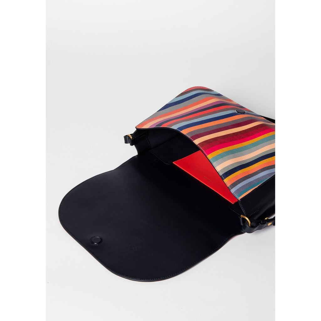 SWIRL MEDIUM SADDLE BAG
