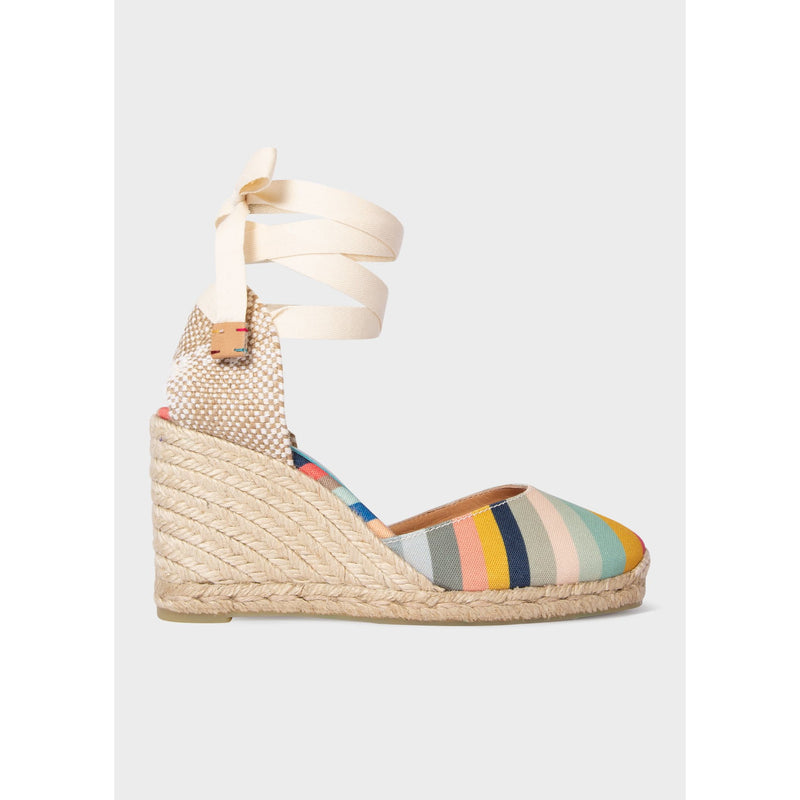 Castañer X Paul Smith - 'Swirl' Espadrille 'Carina' Wedges