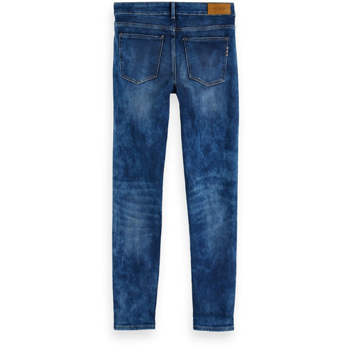SCOTCH AND SODA LA BOHMIENNE JEANS WASHED DENIM