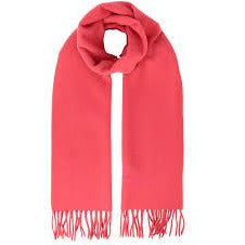 VIVIENNE WESTWOOD ACCESSORIES EMBROIDERED LOGO SCARF PINK