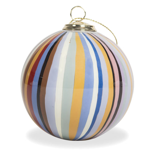 PAUL SMITH HAND PAINTED BAUBLE STRIPE DESIGN