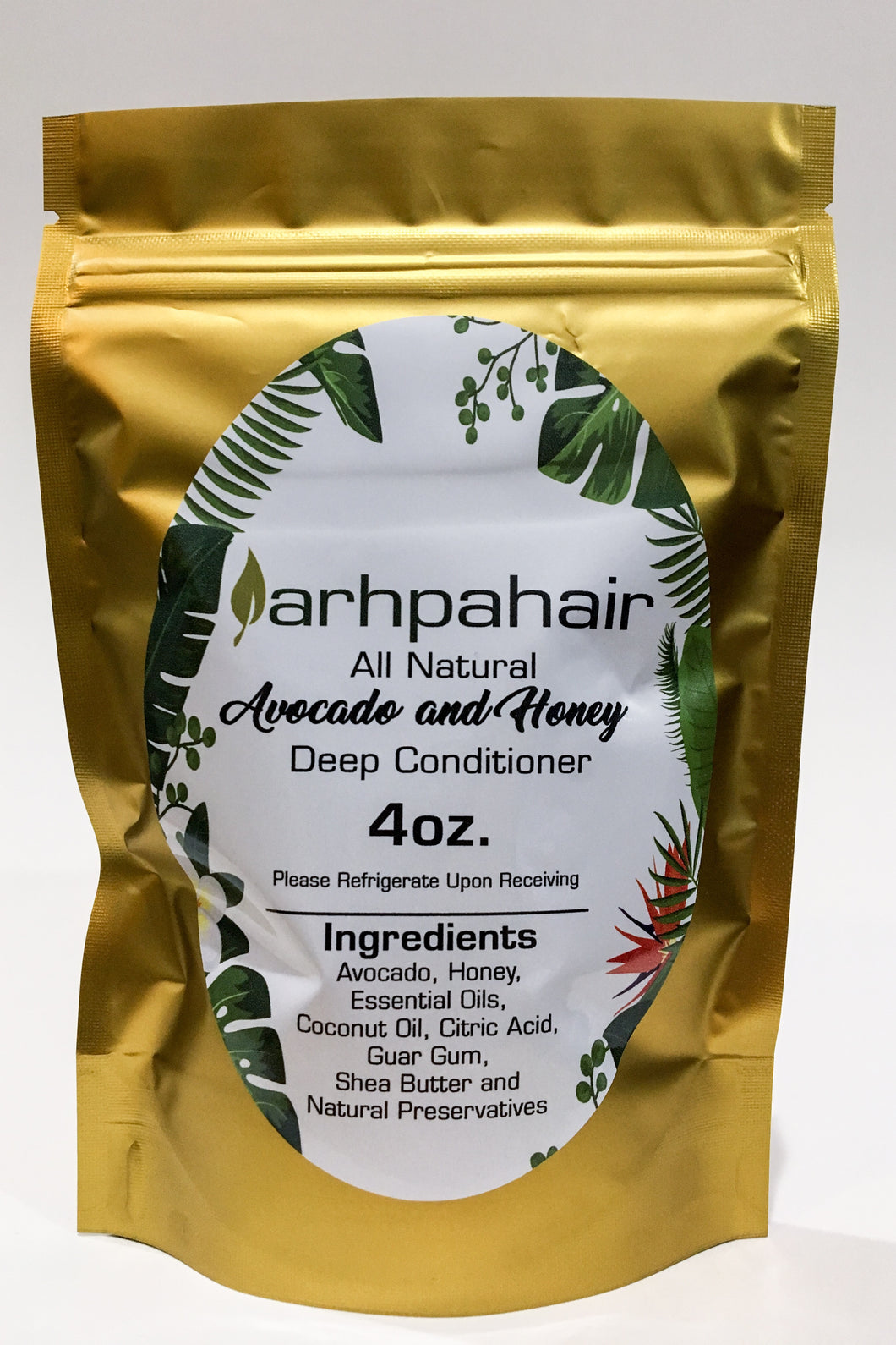 All Natural Avocado and Honey Deep Conditioner Non-Dry