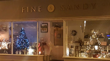 Late Night Christmas Shopping at Fine & Sandy In Tynemouth