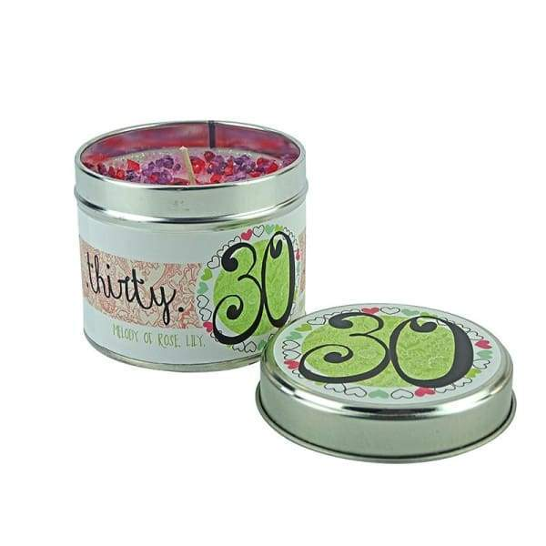 30th Birthday Candle by Tracey Russell