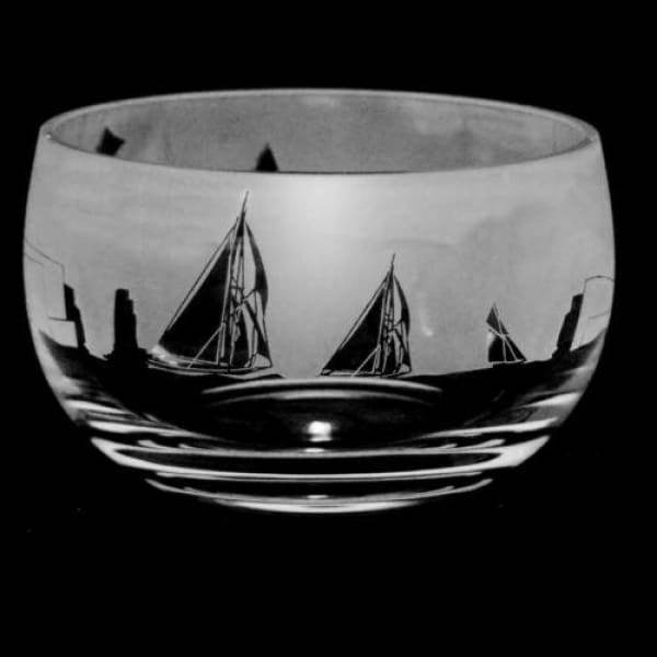 All at Sea Small Glass Bowl