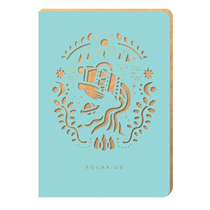 Aquarius Notebook - A6 Size - Notebook
