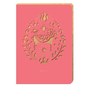 Aries Notebook - A6 Size - Notebook