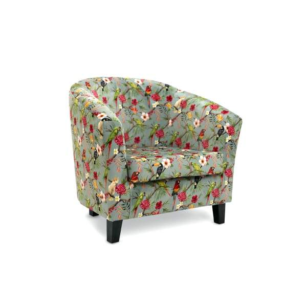 Bailey Tub-Style Accent Chair - 20 Fabric Options - Shangri-La - Home - Chair