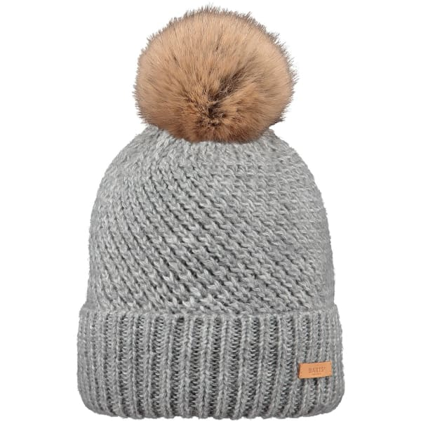 BARTS  - Bexney Beanie Hat For Women In Heather Grey (One Size)