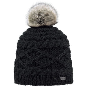 BARTS  - Claire Beanie Hat For Women In Black (One Size)