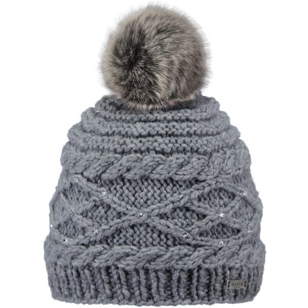 BARTS  - Claire Beanie Hat For Women In Heather Grey (One Size)