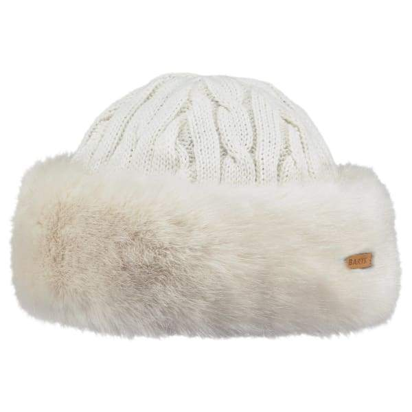 BARTS - Fur Cable Band Hat White - Hats
