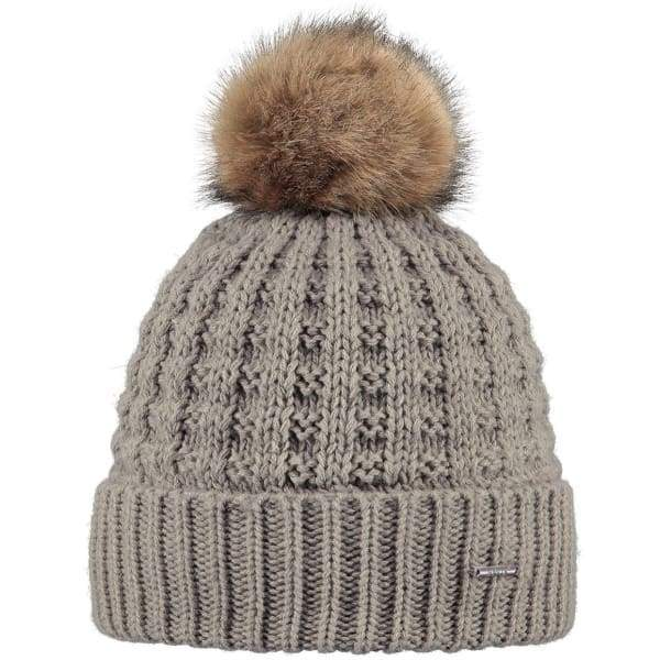 BARTS  - Filippa Beanie Hat For Women In Taupe (One Size)