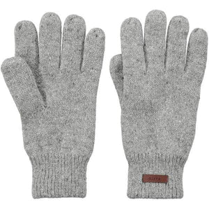 BARTS - Haakon Gloves - Heather Grey - S/M - Gloves