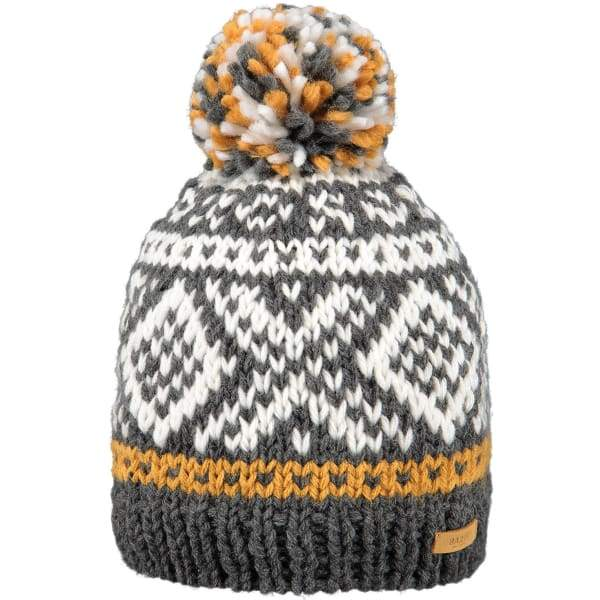 BARTS Log Cabin Beanie - Dark Heather