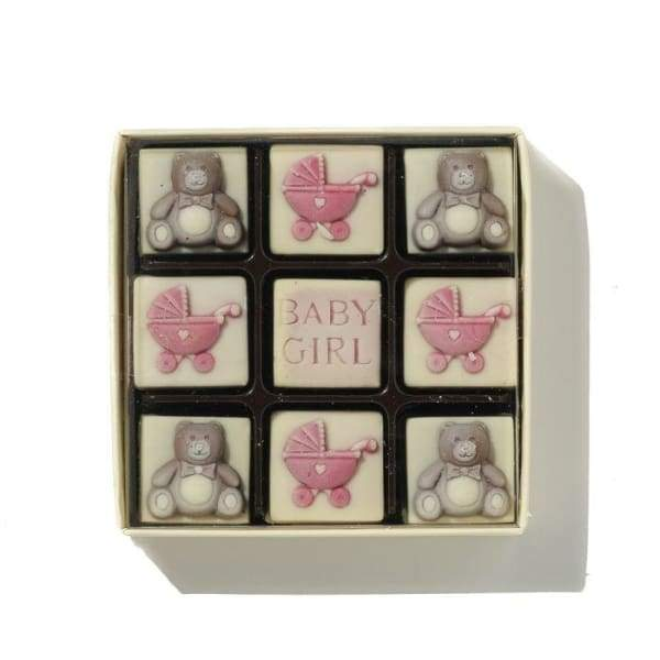 Belgian Chocolate 'Baby Girl'