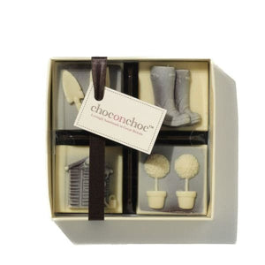 Belgian Chocolate Gardening Set