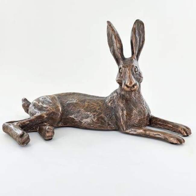 Bluebell Hare- Cold Cast Bronze Sculpture By Harriet Glen