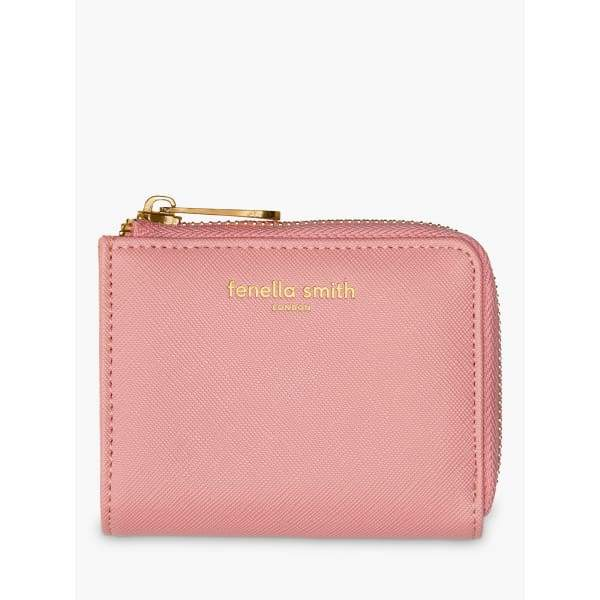 Blush Pink Small Vegan Leather Purse by Fenella Smith