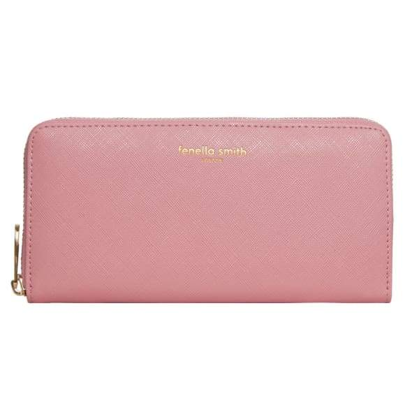 Blush Pink Vegan Leather Purse