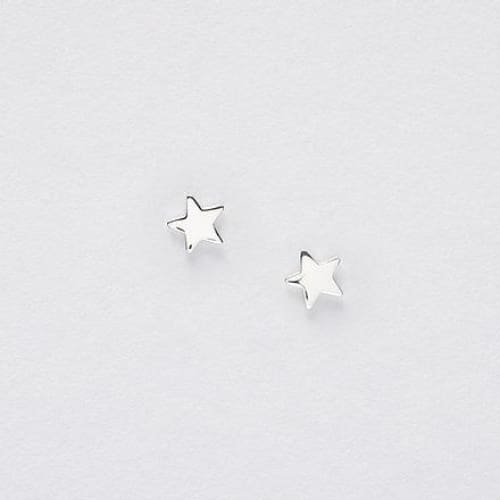 Bridesmaid Silver Earrings On Designer Card by Crumble and Core