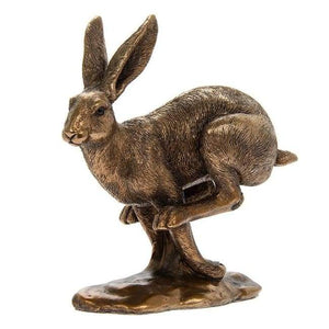 Bronze Hare Running