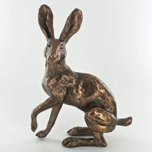 Buttercup Hare - Cold Cast Bronze Sculpture by Harriet Glen