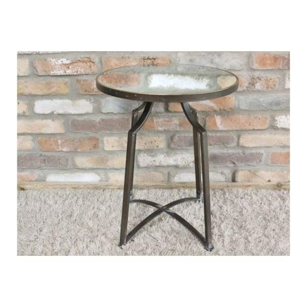 Mirror Top Side Table - Small - Home - Table