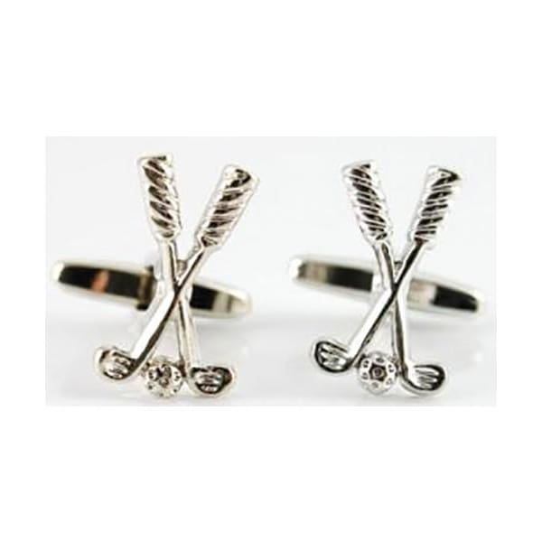 Cufflinks - Golf Clubs