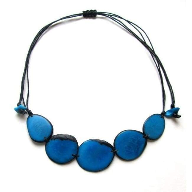 Diana Handmade Necklace in Turquoise