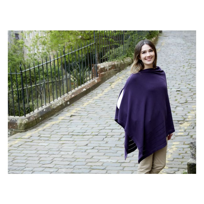 Earthsquared Fairtrade Cotton Wrap - Mulberry